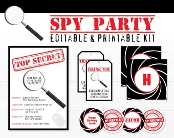 picture about Spy Party Invitations Printable Free called Printable Spy Best Key Codes and Ciphers for Small children customizable