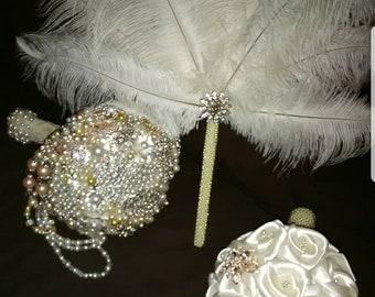 Bridal Bouquet Combo