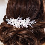 Bridal hair comb Rhinestone hair comb Crystal hair comb Bridal hair piece Wedding hair comb Rhinestone hair piece Crystal hair piece