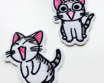 Cat | Kawaii | Patch | Cute | Hipster | Trendy | Emo | DIY | Fashion | Retro