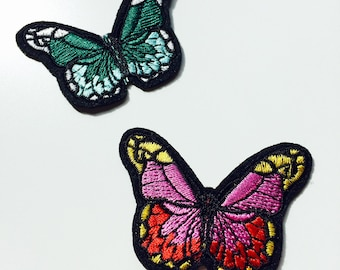Sale | Patches | Patch | Set | Hipster | Trendy | Emo | DIY | Fashion | Butterfly | Rainbow | Summer | Retro