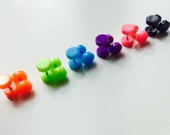 Plug | Fake | Cheater | Acrylic | Earrings | Ear | Piercing