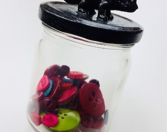 Dinosaur | Storage Jar | Diplodocus | Raptor | T-rex | Stegosaurus | Triceratops | Glitter | Toy | Gift