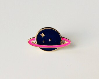 Planet | Galaxy | Space | Cute | Pin | Badge | Retro | Hipster | Upcycle | Accesory | Modify