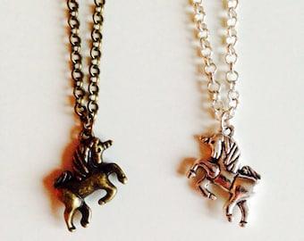 Sale | Unicorn | Horse | Equestrian | Cute | Pretty | Necklace