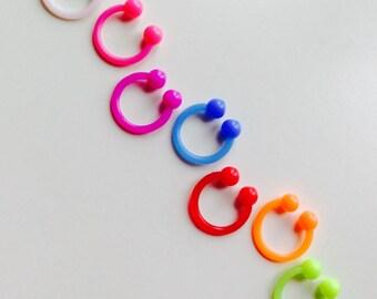 Circular Barbell | Horseshoe | Horse Shoe | Septum | Ear | Earring | Piercing | Body Jewellery