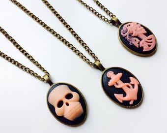 Unicorn | Skull | Skeleton | Anchor | Cameo | Vintage Style | Retro | Victorian Inspired | Festival