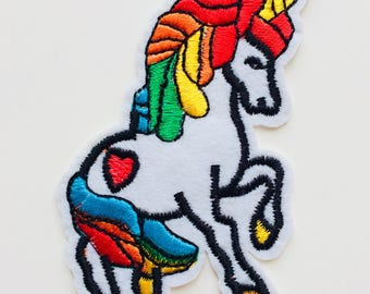 Unicorn | Patch | Cute | Hipster | Trendy | Emo | DIY | Fashion | Retro