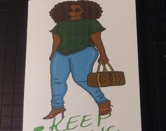 Keep Going TN Planner Inserts/Mini Notebooks