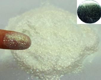 Liquid Diamonds - Green Sparkle Holographic/Iridescent Glitter Nail Art Polish! Free Shipping!