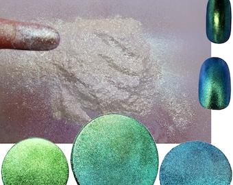 Liquid Diamonds - Chameleon Sparkle Color Shift/Color Change Glitter Acrylic Nail Art Polish! Free Shipping!