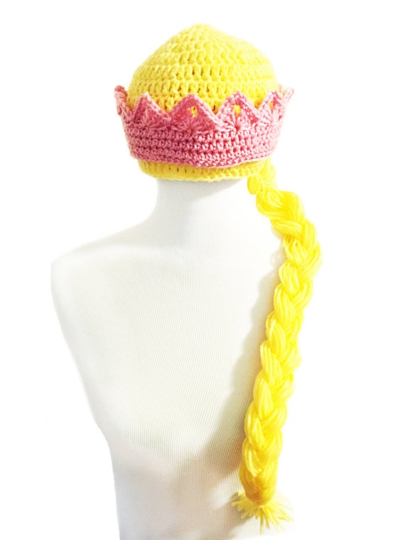 b46bce8a5 Princess Hat with Crown and Braid (8 - 16 yrs)