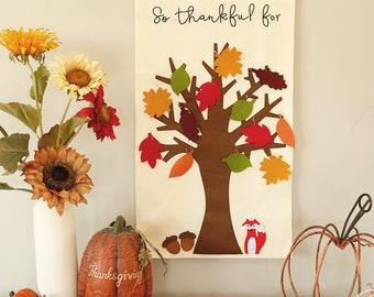 Thankful Tree Etsy