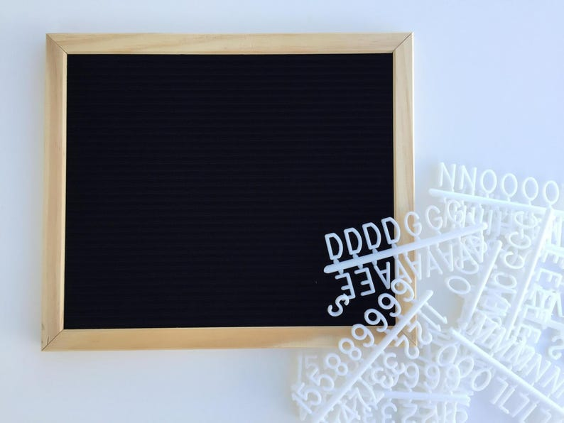 Office & School Supplies Gentle Characters For Felt Letter Board Russian Alphabet For Changeable Letter Board Drawing Board
