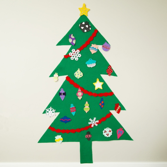 Felt Christmas Tree Pattern.Traditional Felt Christmas Tree For Kids Pdf Pattern Pretend Play Christmas Tree Pattern Kids Christmas Tree Pattern Christmas Decor