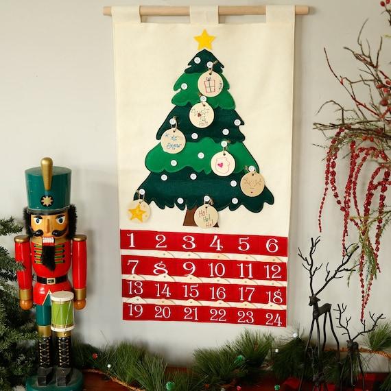 FREE shipping Advent Calendar  Christmas tree advent