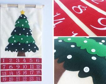 Advent Calendar - Use YOUR own ornaments!!