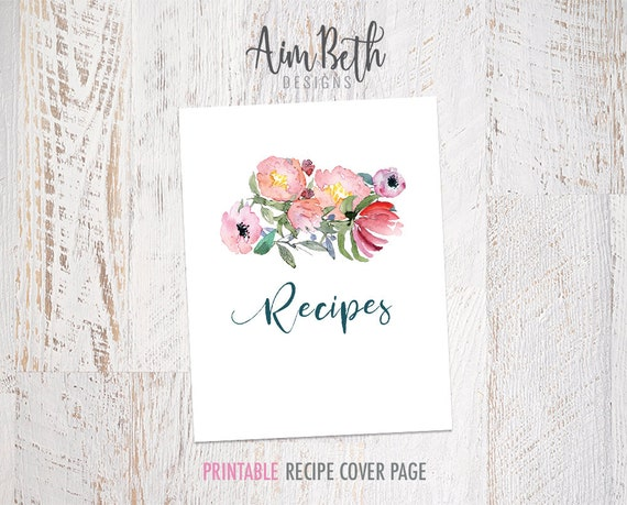 photograph relating to Printable Recipe Book referred to as Recipe Binder Package Printable Recipe Include Sheet, Tailor made Recipe E book, Tailor made Cookbook, Recipe Organizer, Recipe Reserve Binder, Recipe Package