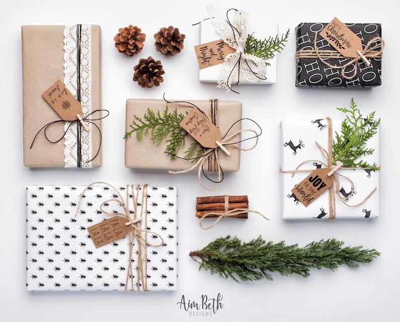 Christmas Gift Tags Variety Pack Printable Christmas Gift Tags image 0