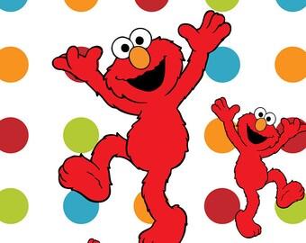 Custom Elmo Socks