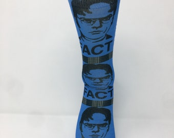 bce7868024 Fact Dwight Schrute Socks