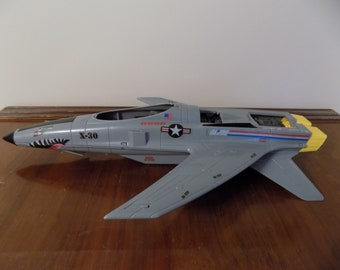 Hasbro GI Joe Conquest X-30 Incomplete 1986 - vintage classic 1980's action figure vehicle - A Real America Hero