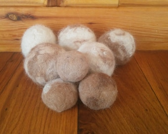 Organic Dog Toys **Dog Balls** Cat Toys **Cat Balls** No Dyes or Chemicals **All Natural** 100% Alpaca Felted Balls