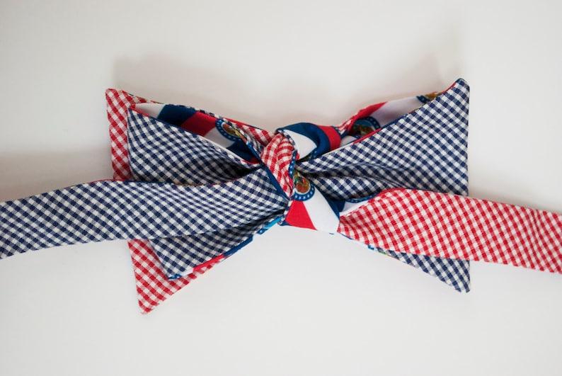 Missouri Flag Bow Tie