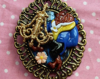 Beauty and the Beast Alphabet Bead necklace