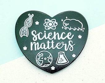 Science Matters Enamel Pin
