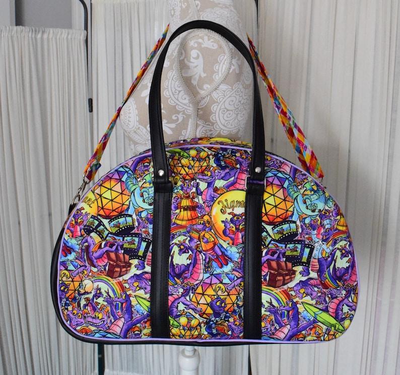 Dragon Betty Bowler  Baby Diaper Bag  Bowler Bag  Carry on image 0