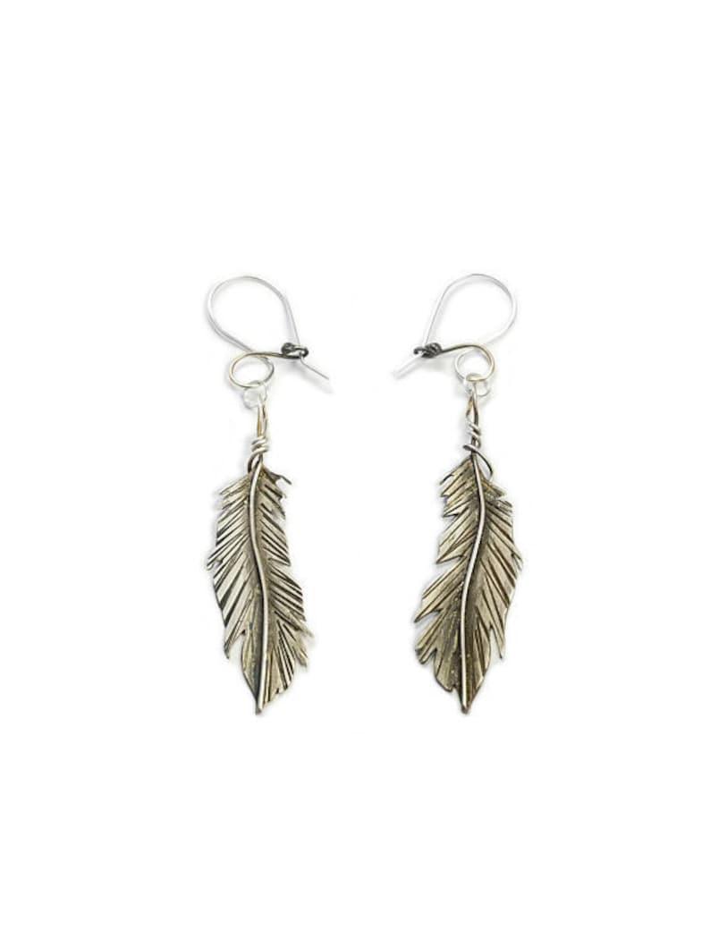 Fun And Flirty Sterling Silver Tassel Earrings