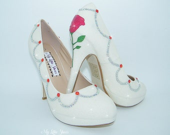Belle Theme Shoes Etsy