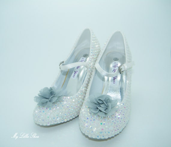 1aa1d807b61fd Grooms rhinestone Bride Bridesmaid heels shoes shoes Party White ...