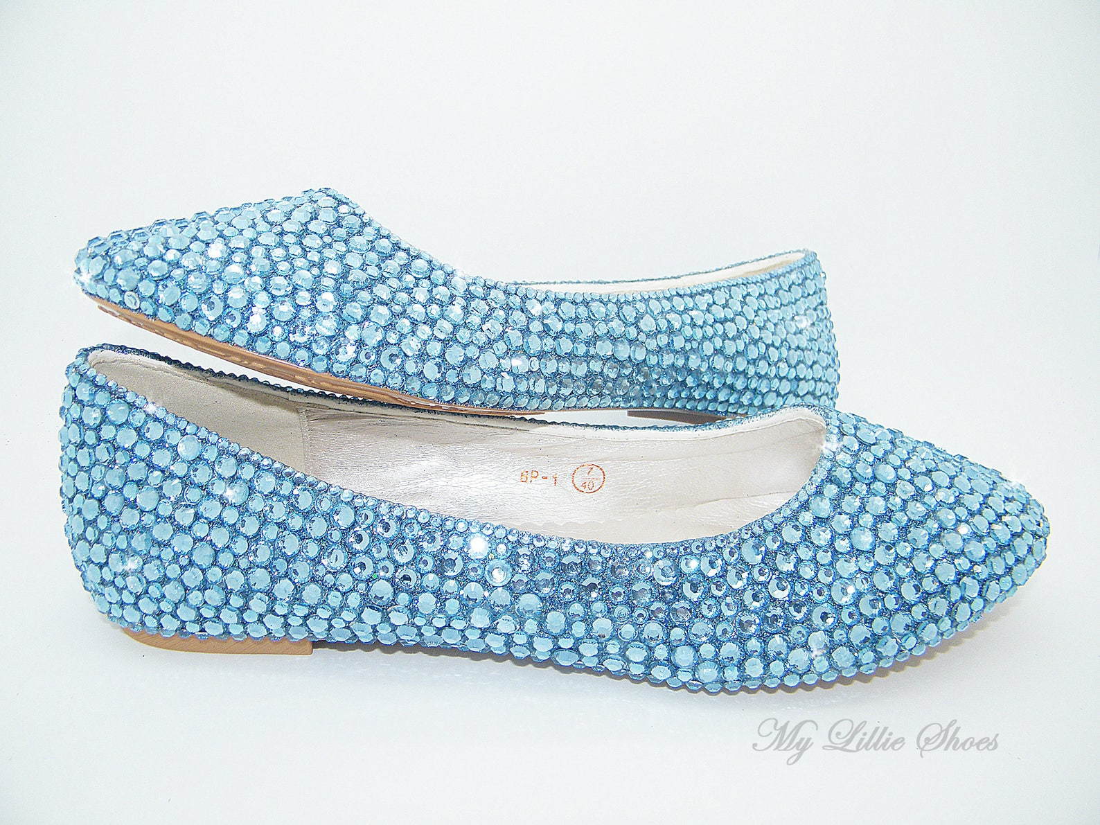 wedding shoes ~ sapphire blue ballet shoes ~ shoes for wedding, bridal shoes, gift for mom, bridesmaid gift, unique gift ideas,