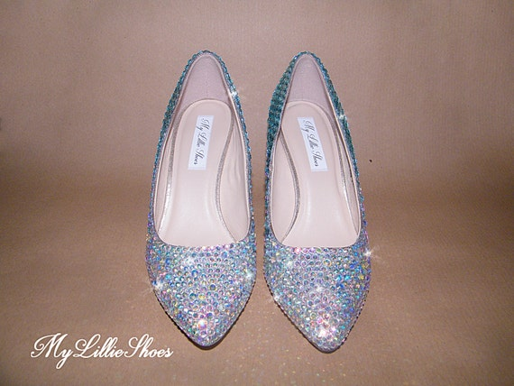 Graduation Something Bridesmaid Bride the Sweet Quinceanera Mother ~ heels Birthday of Shoes Bling 16 Party Blue low Prom Wedding ~ wFg4zqUqYx