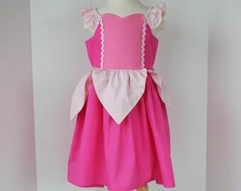 Sleeping Beauty Dress - Pink Princess  Dress - Aurora Dress - Disney Princess Inspired Dress - Fairytale Collection
