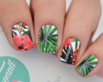 Tropicana Nail Polish Wraps