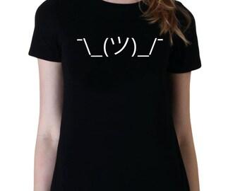 Shrug Emoji, Funny Shirt, Attitude Shirts, Graphic Tee, Tumblr Shirt, Gifts for Teen Girls Fashion Trending Hipster Instagram Tops Tshirts