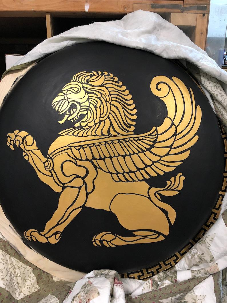 Greek Hoplite Shield Blank
