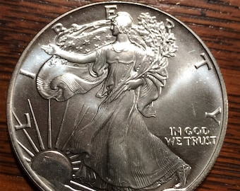 1990 Silver Eagle (One Ounce of Silver)