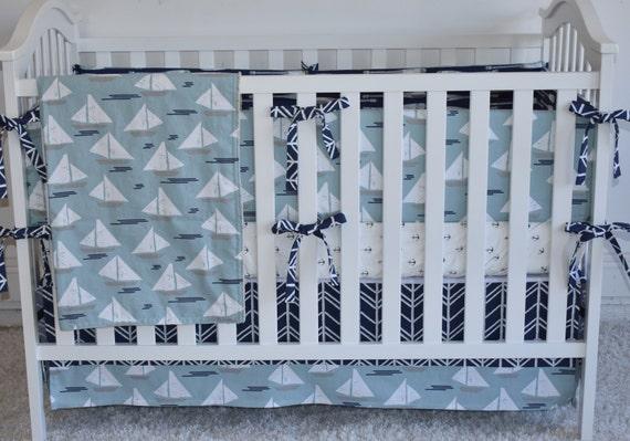 4 Stück SET Segel Boote Kinderbett Bettwäsche modernen | Etsy