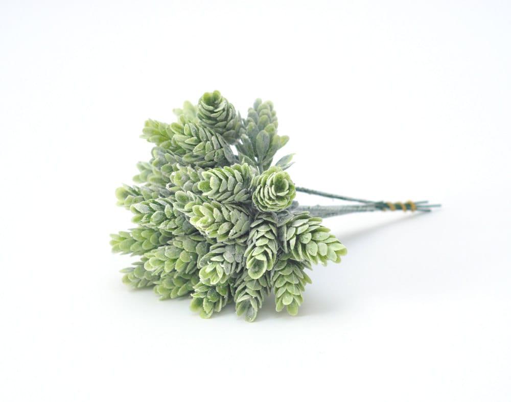 Artificial succulentfaux succulentsfaux pineconepine etsy artificial succulentfaux succulentsfaux pineconepine conesflower crown materialsboutonniere materialsplastic succulentfaux greenery izmirmasajfo