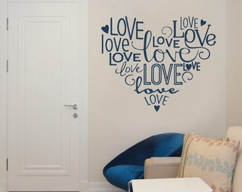 Heart of Love Wall Sticker