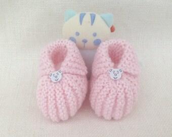 af4c816a5e901 Tricoter des chaussons de bébé