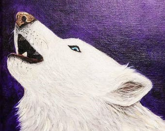 Handmade dog paintings and portraits in acrylic on canvas from your pet's photo