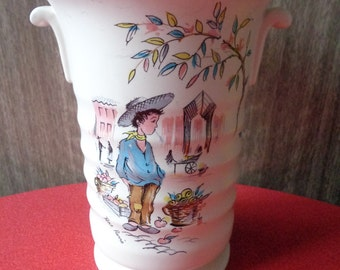 Ringtons etsy vintage kitsch retro 1950s crown ducal ringtons vase petit pierre negle Gallery