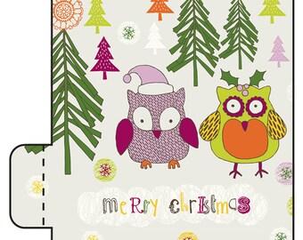 sale 12 owl christmas lip balms merry christmas stocking stuffers lip balm stocking stuffers co worker gifts christmas owl - Owl Christmas