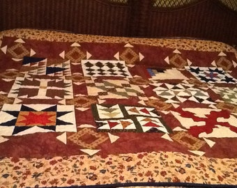 Lap or twin quilt