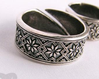 Star Ring. Scandinavian Lucky star Alatir. Morning Nordic ancient protective ornament.  ring viking wicca Alatir.  Pagan ring jewelry